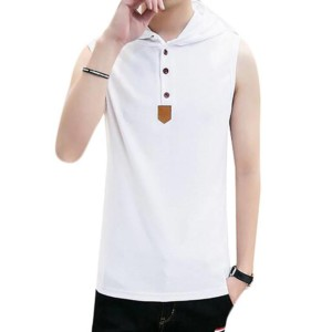 Men Henley Tank Top Manufacturer-Supplier Thygesen Textile Vietnam