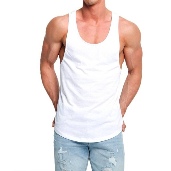 Men Longline Tank Top Manufacturer-Supplier Thygesen Textile Vietnam