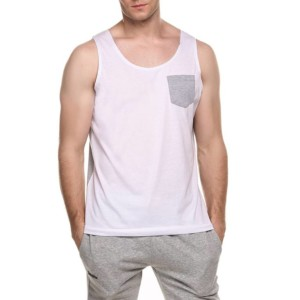 Men Pocket Tank Top Manufacturer-Supplier Thygesen Textile Vietnam