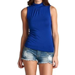 Turtle Neck Tank Top Manufacturer-Supplier Thygesen Textile Vietnam