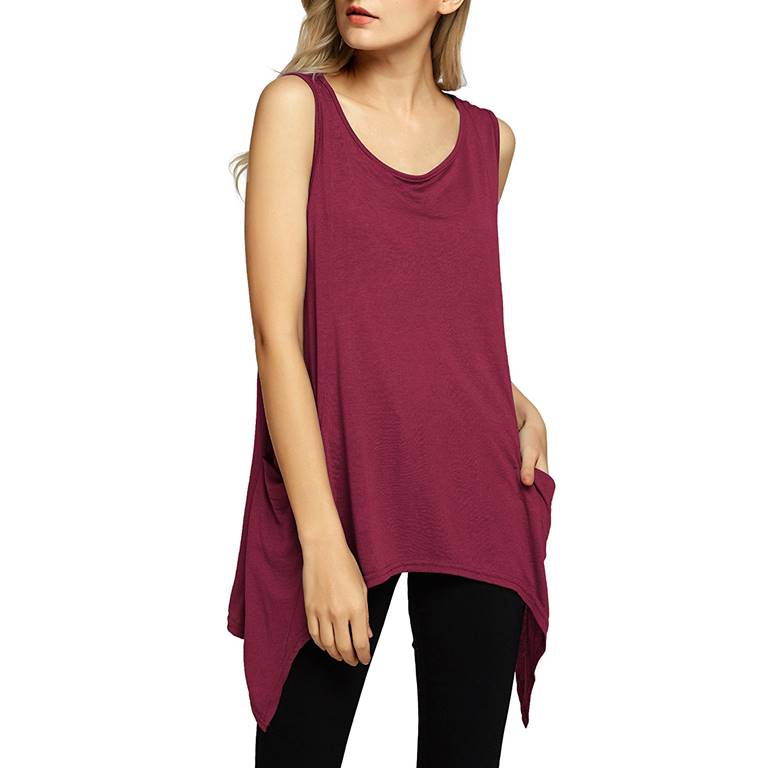 Women Pocket Tank Top Manufacturer-Supplier Thygesen Textile Vietnam