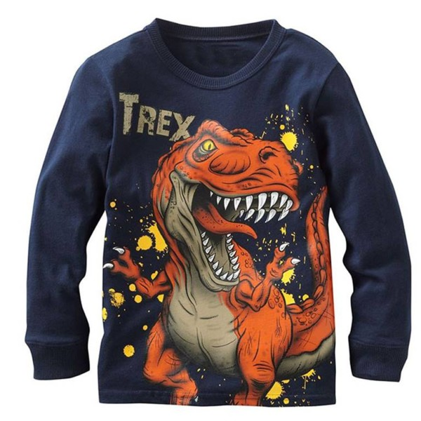 Boys Long Sleeve T-shirt Manufacturer-Supplier Thygesen Textile Vietnam