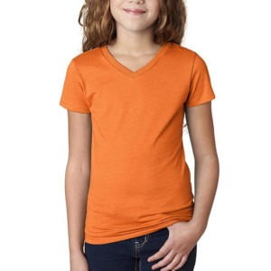 Girls V Neck T-Shirt Manufacturer-Supplier Thygesen Textile Vietnam