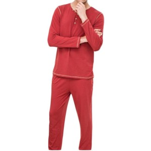 Men Long Sleeve Pajama Manufacturer-Supplier Thygesen Textile Vietnam