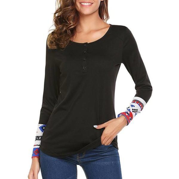 Women Henley T-shirt Manufacturer-Supplier Thygesen Textile Vietnam