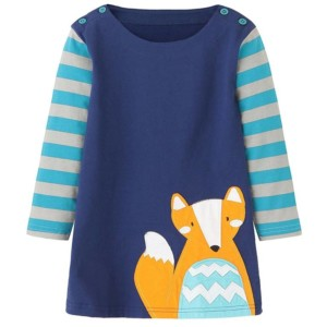 Girls Animals Printed Dress Manufacturer-Supplier Thygesen Textile Vietnam