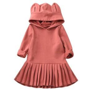 Girls Hooded Dress Manufacturer-Supplier Thygesen Textile Vietnam