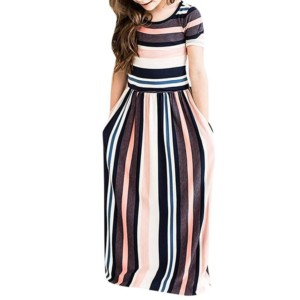 Girls Maxi Dress Manufacturer-Supplier Thygesen Textile Vietnam