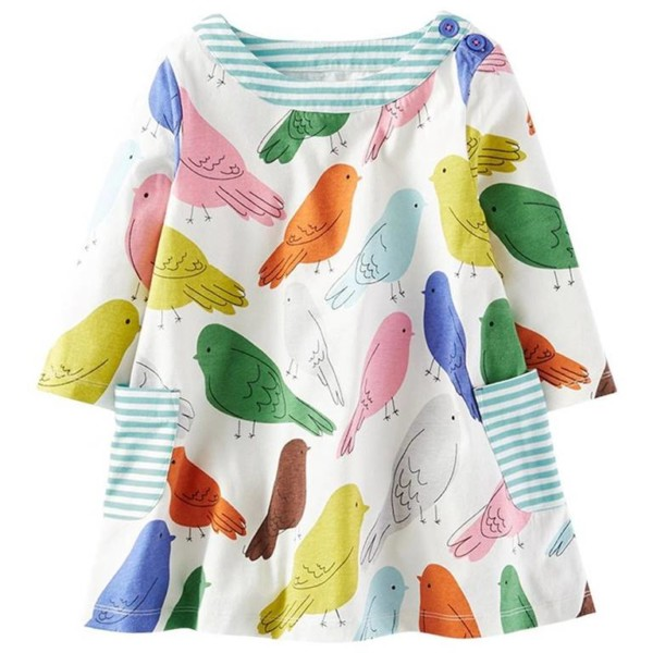 Girls Pocket Dress Manufacturer-Supplier Thygesen Textile Vietnam