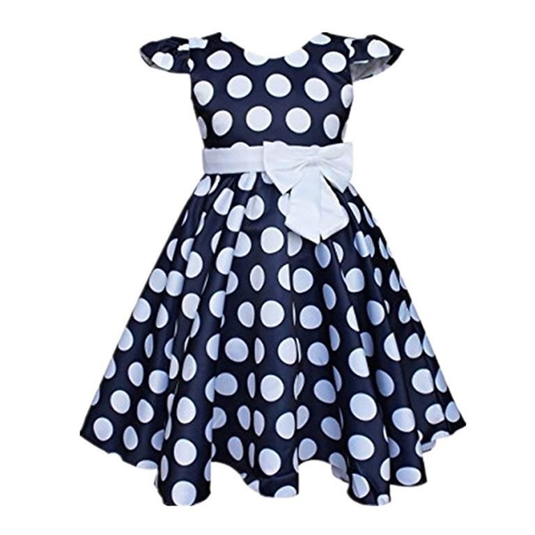 Girls Polka Dot Dress Manufacturer-Supplier Thygesen Textile Vietnam