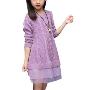 Girls Sweater Dress Manufacturer-Supplier Thygesen Textile Vietnam
