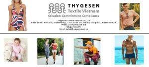 Fitness clothing manufacturer - Thygesen Textile Vietnam