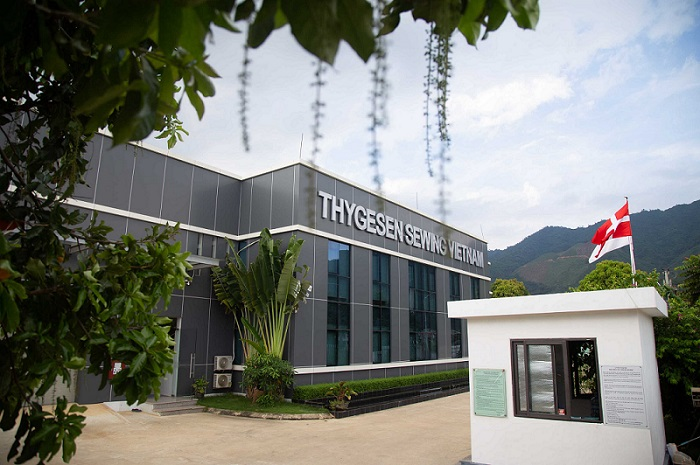 clothing factory Vietnam -Thygesen Textile Vietnam