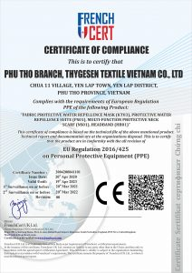 Official cert- CE Marking