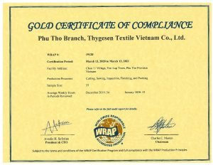 TSV Wrap Certificate 19120