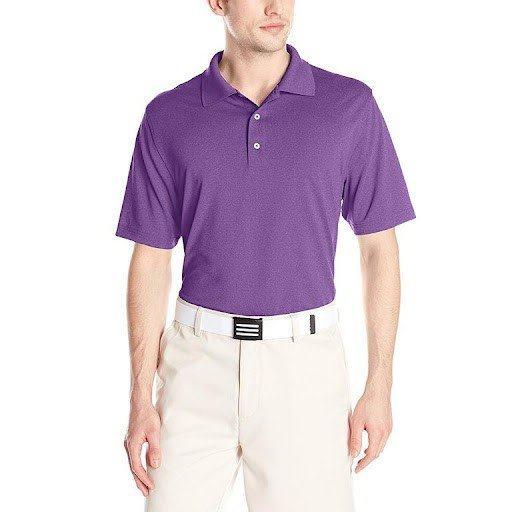 polyamide blended polo shirt