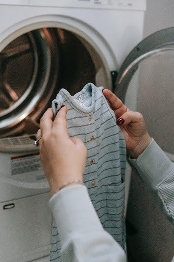wash polyamide clothing